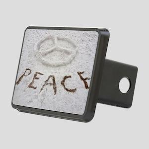 Peace Symbol Rectangular Hitch Cover