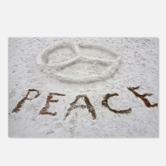 Peace Symbol Postcards (Package of 8)