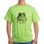 Hello... Goodbye Green T-Shirt