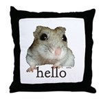 Hello... Goodbye Throw Pillow
