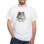 Hello... Goodbye White T-Shirt