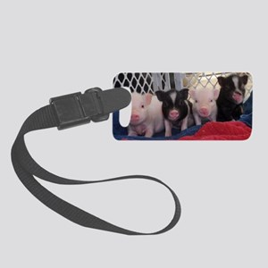 Baby piggies Small Luggage Tag