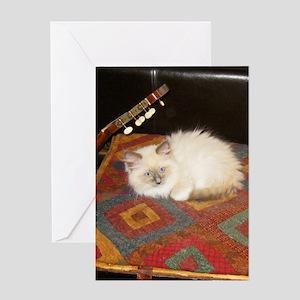 Ragdoll Ragtime C Greeting Card