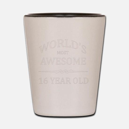 16 year old Shot Glass