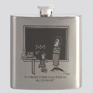 Kids Class Action Suit in Math Class Flask
