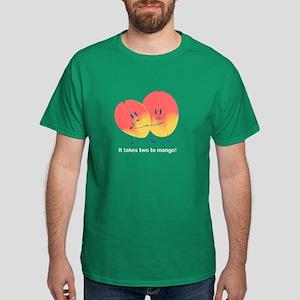 Two to Mango Men's Dark T-Shirt