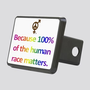 Total Humanity Rectangular Hitch Cover