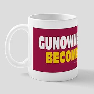 Anti Gun Control Sticker Mug