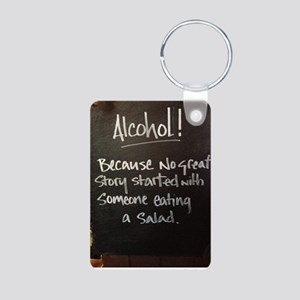 The truth about Alcohol Aluminum Photo Keychain