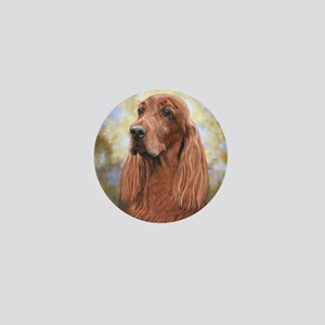Irish Setter by Dawn Secord Mini Button