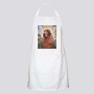 Irish Setter by Dawn Secord Apron