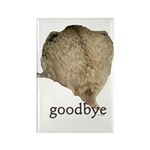 Goodbye Rectangle Magnet (100 pack)