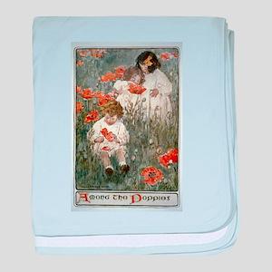 Among The Poppies - Jessie Wilcox Smith - 1904 - P