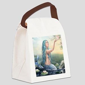 Beautiful Mermaid Canvas Lunch Bag