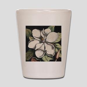 Vintage Magnolia Shot Glass