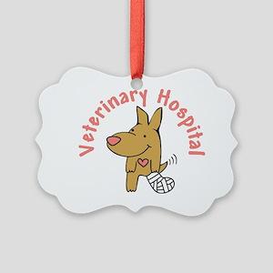 Veterinary Hospital Picture Ornament