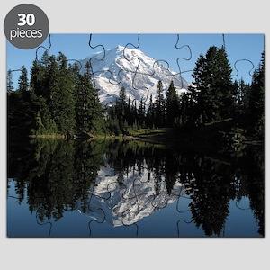 Mt. Rainier reflection 1 Puzzle