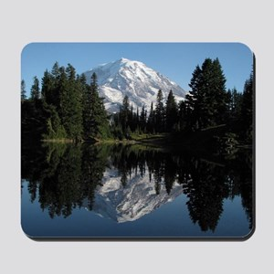 Mt. Rainier reflection 1 Mousepad