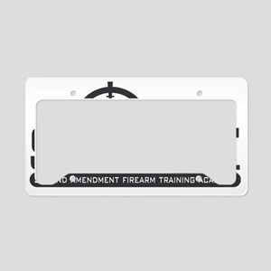 SAFT Black License Plate Holder