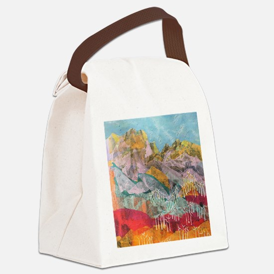 75 turbines Canvas Lunch Bag