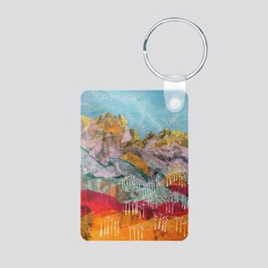 75 turbines Aluminum Photo Keychain