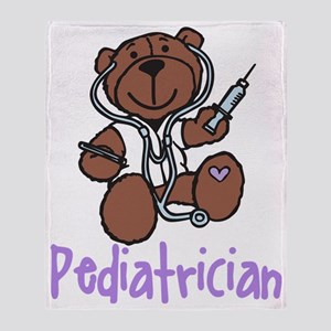 Pediatrician Throw Blanket