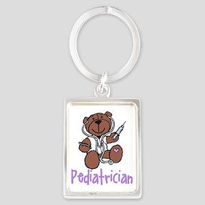 Pediatrician Portrait Keychain