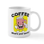 Coffee Quota Mug