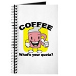 Coffee Quota Journal