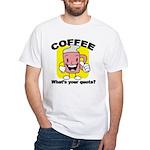 Coffee Quota White T-Shirt