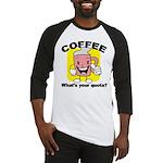Coffee Quota Baseball Jersey