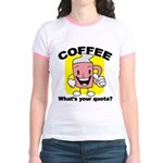 Coffee Quota Jr. Ringer T-Shirt