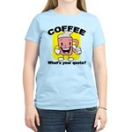 Coffee Quota Women's Light T-Shirt