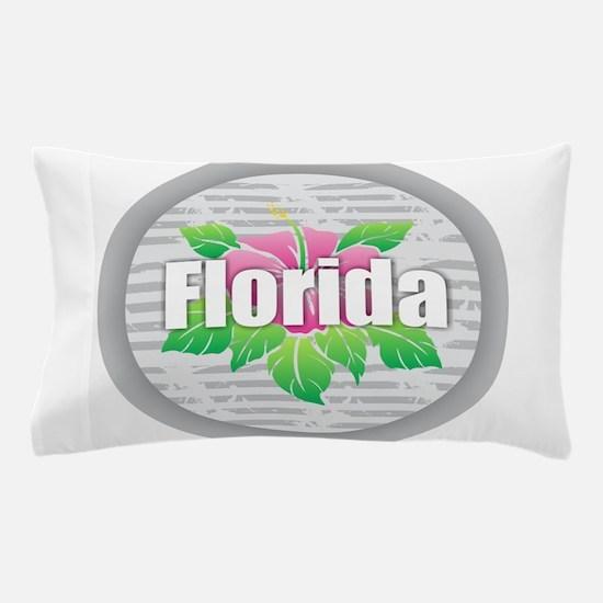 Florida Hibiscus Pillow Case
