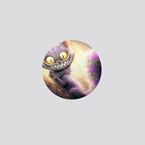 Cheshire Cat Mini Button