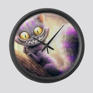 Cheshire Cat Large Wall Clock