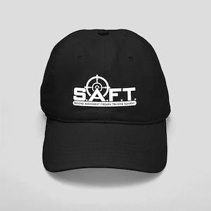 SAFT White on Black Black Cap