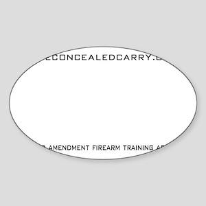 SAFT Black with Web Address Sticker (Oval)