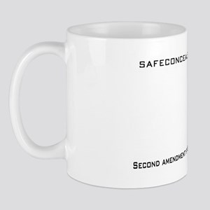 SAFT Black with Web Address Mug