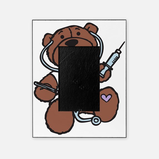 Doctor Teddy Picture Frame