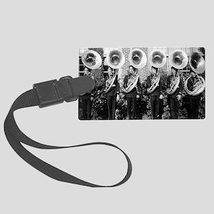 sousaphones-9 Large Luggage Tag