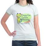 Women's Ringer T-Shirt - Official CCLS Logo