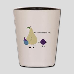 Grape Pear Shot Glass