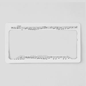 tchaikovsky tuba part-1 License Plate Holder