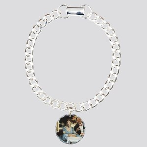 William Glackens Chez Mo Charm Bracelet, One Charm