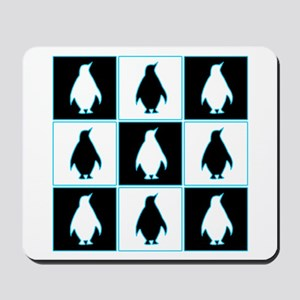 Penguin Pattern Mousepad
