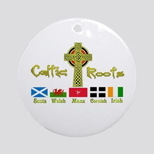 My Celtic Heritage. Ornament (Round)