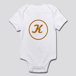 """Kosher """"K"""" Infant Bodysuit"""