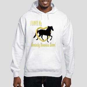 I Love My Kentucky Mountain! Hooded Sweatshirt