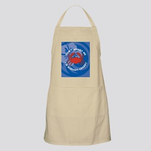 Dont Annoy Me Oval Ornament Apron